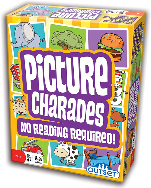 Picture Charades 4yrs+