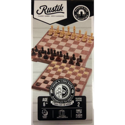 Magnetic Chess & Checker
