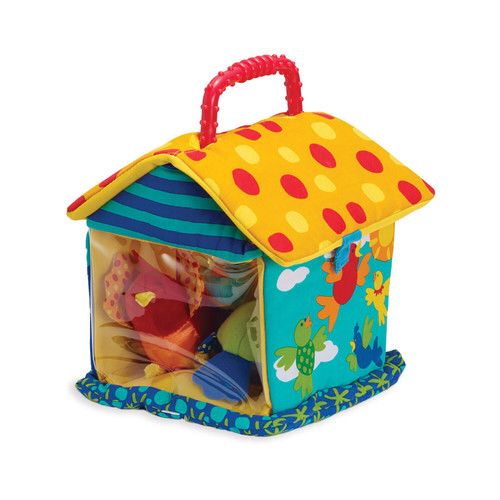 Put and Peek Birdhouse Toy
