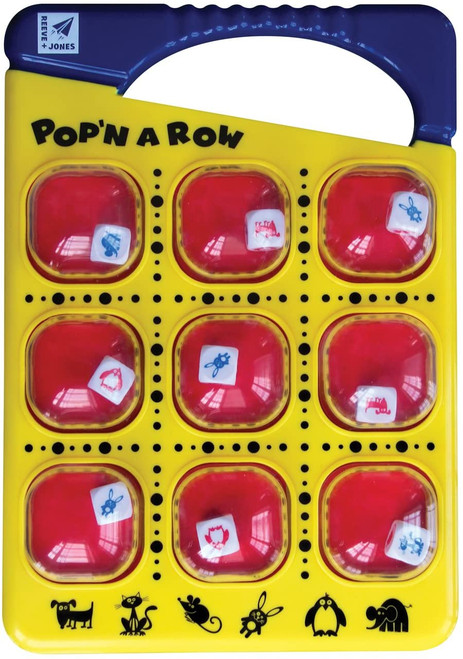 Pop 'N a Row Game