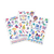 contents of mermaid magic temporary tattoos for kids