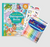 ooly outrageous ocean colouring book, set of colour appeal markers and tiny stickers