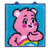 completed care bears latch kit project