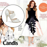 Candis Magazine Features our Shoe Candy 'Melania'!