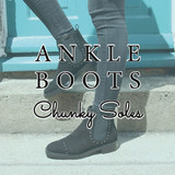 The Ankle Boot: Chunky Soles