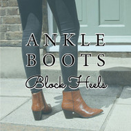 The Ankle Boot: Block Heels