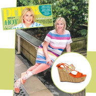 Fern Britton looks Fabulous in Lisa Kay London Shoes!
