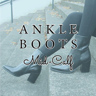The Ankle Boot: Mid-Calf Ankle Boot