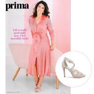 Susanna Reid wears Lisa Kay in Prima Magazine