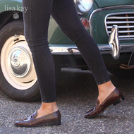 How to Wear Brown Shoes This Winter