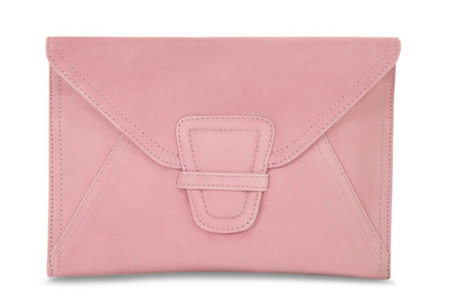 Liberty: Pale Pink Suede