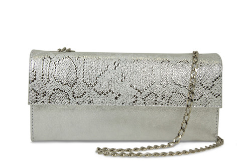 Babe: Silver Leather / Snake