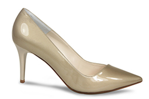 Marilyn-Metal: Taupe Patent