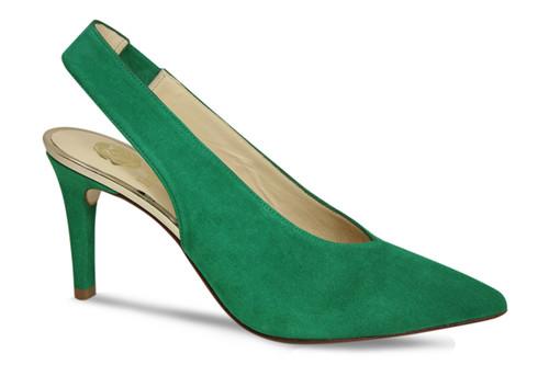 Elsa: Green Suede