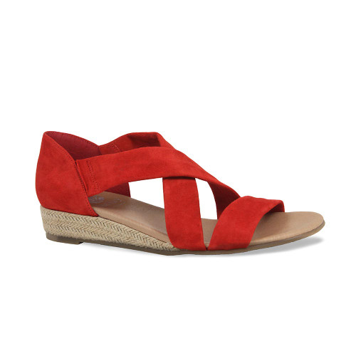 Millie: Red Suede