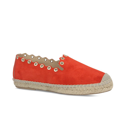 Punch: Red Suede