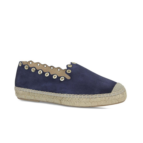 Punch: Navy Suede