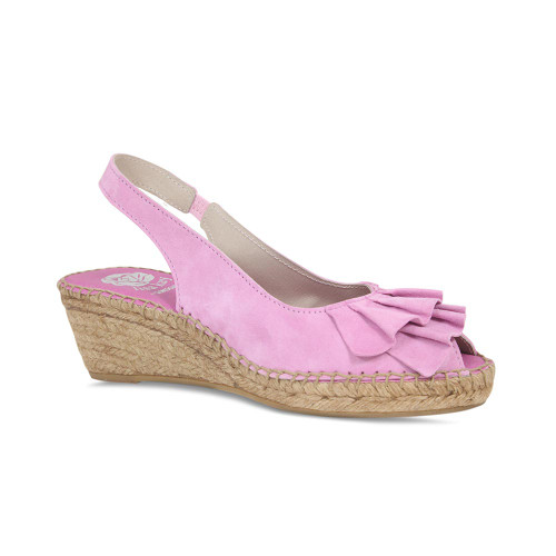 Sunny: Pink Suede