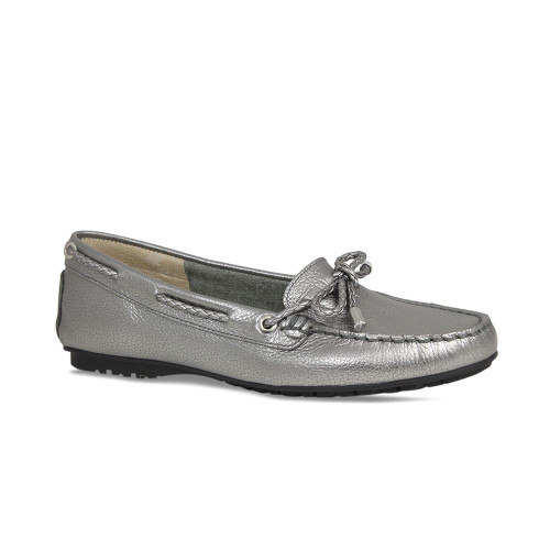 Alanis: Pewter Leather
