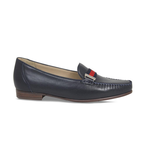 Womens Smart Navy Loafer