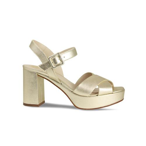 Robina: Gold Leather