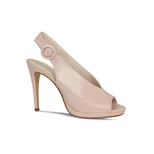 Therese: Nude Leather