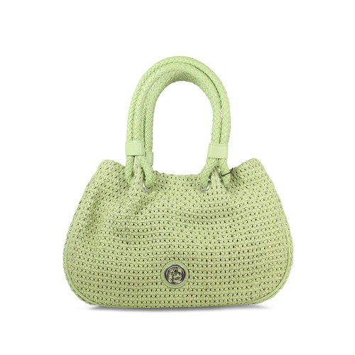 Ripple: Lime Leather Weave