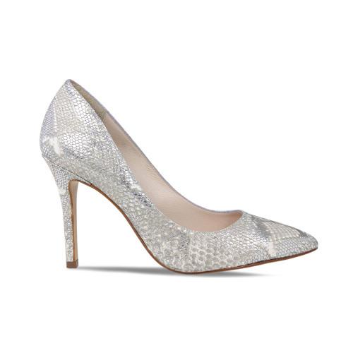 Elegant High Heel Animal Print Court Shoe