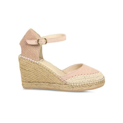 Calista: Pale Pink Suede