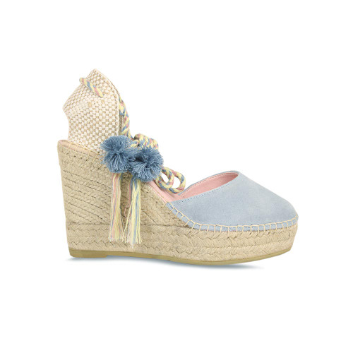 Adelaide: Pale Blue Suede