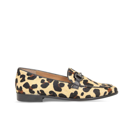 Woman's Classic Leopard Loafer