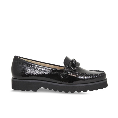 Black Patent Platform Loafer