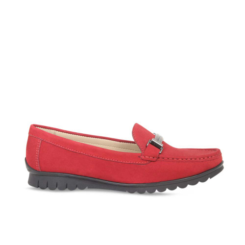 Red Nubuck Stylish Loafer