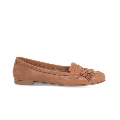 Leigh: Tan Leather