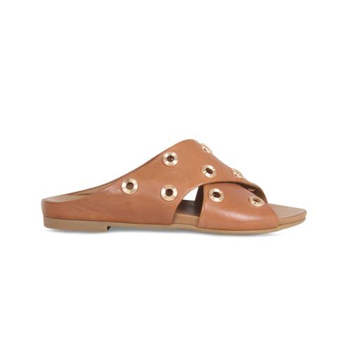 Raya: Tan Leather