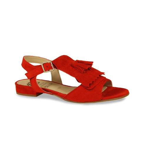 Marie: Red Suede