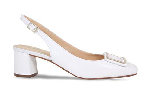 Rayne: White Leather