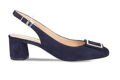 Rayne: Navy Suede