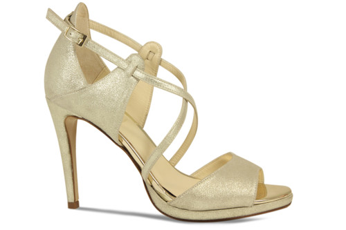 Angie: Gold Suede