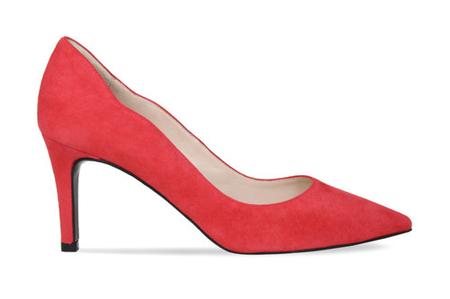 Carlton: Red Suede