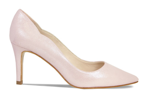 Carlton: Pale Pink Shimmer