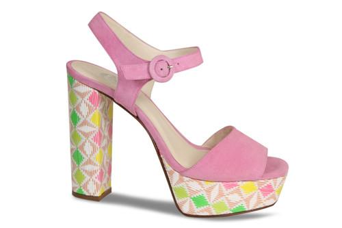 Regina: Pink Suede / Inca
