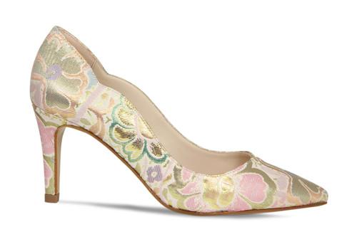 Carlton: Pastel Metallic Fleur