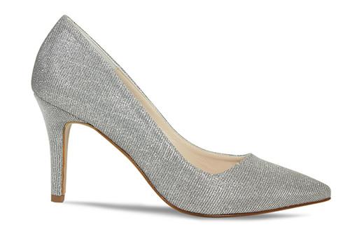 Marilyn: Dark Silver Glitter