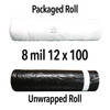 8 mil Economy Crawl Space Liner - 12' x 100' Roll