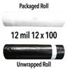 12 Mil Economy Crawl Space Liner (WB) - 12' x 100' Roll