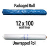 Wall Liner Reinforced Translucent Roll -Various sizes