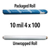 10mil Reinforced Crawl Space Liner (translucent) Roll -Various sizes