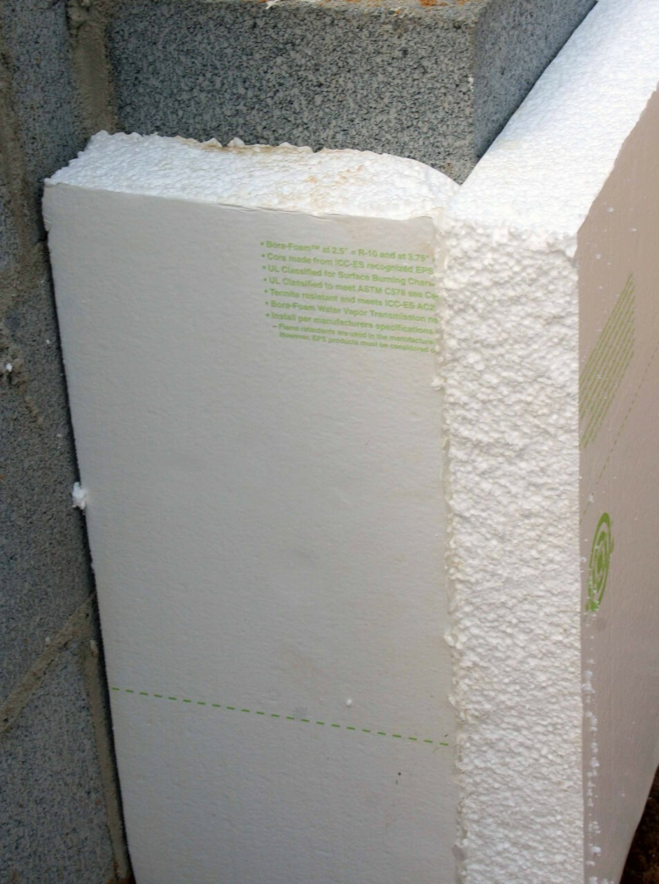 "Bora Foam (4' x 8' x 2-1/2"") Insulation Board"