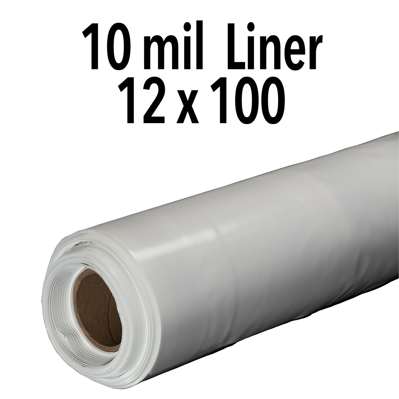 10 Mil Non-Reinforced Crawl Space Liner - 12' X 100' Roll